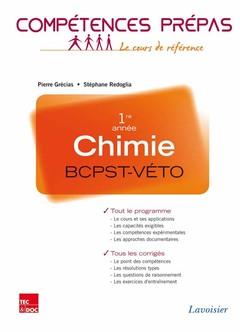 Couverture de l'ouvrage Chimie 1re année BCPST-VÉTO