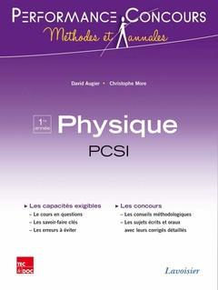 Couverture de l'ouvrage Physique 1re année PCSI