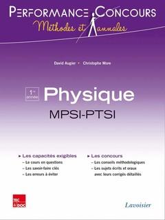 Couverture de l'ouvrage Physique 1re année MPSI-PTSI