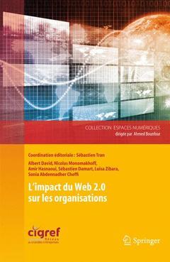 Couverture de l'ouvrage L'impact du web 2.0 sur les organisations