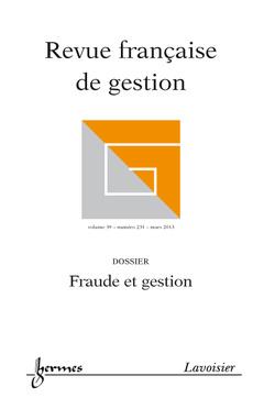 Couverture de l'ouvrage Fraude et gestion