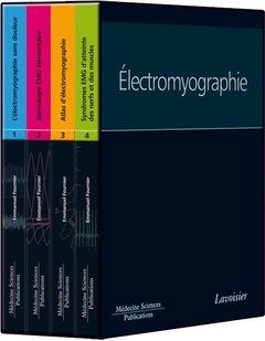 Couverture de l'ouvrage Collection Électromyographie (4 volumes)