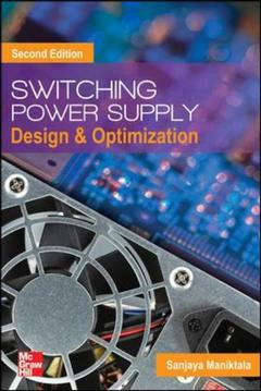 Couverture de l'ouvrage Switching Power Supply Design and Optimization