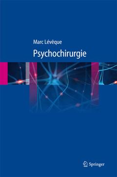 Couverture de l'ouvrage Psychochirurgie