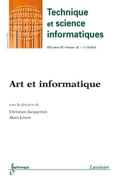 Couverture de l'ouvrage Technique et science informatiques RSTI série TSI Volume 32 N° 3-4/Mars-Avril 2013