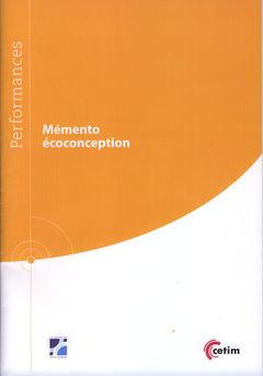 Couverture de l'ouvrage Mémento écoconception