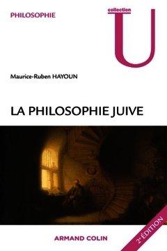 Couverture de l'ouvrage La philosophie juive