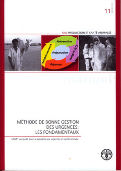 Couverture de l'ouvrage Méthode de bonne gestion des urgences : Les fondamentaux
