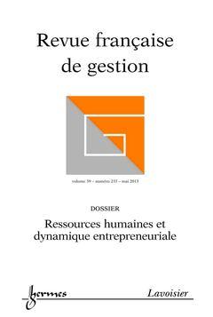 Couverture de l'ouvrage Revue française de gestion Volume 39 N° 233/Mai 2013
