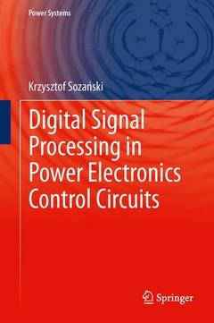 Cover of the book Digital Signal Processing in Power Electronics Control Circuits