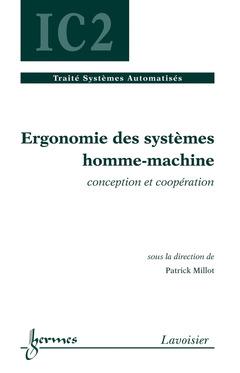 Couverture de l'ouvrage Ergonomie des systèmes homme-machine