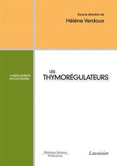 Couverture de l'ouvrage Les thymorégulateurs