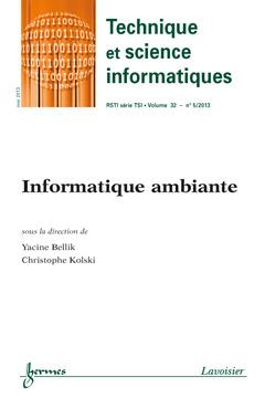 Couverture de l'ouvrage Technique et science informatiques RSTI série TSI Volume 32 N° 5/Mai 2013