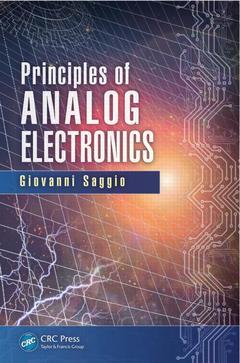 Couverture de l'ouvrage Principles of Analog Electronics