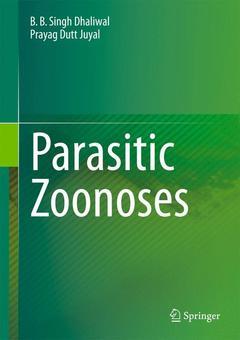 Couverture de l'ouvrage Parasitic Zoonoses