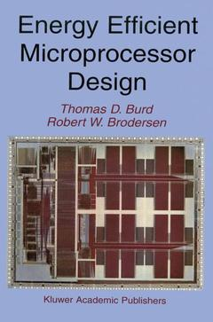 Cover of the book Energy Efficient Microprocessor Design