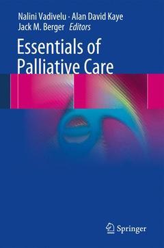 Couverture de l'ouvrage Essentials of Palliative Care