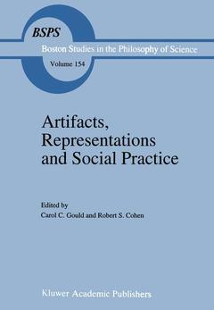 Couverture de l'ouvrage Artifacts, representations and social pr actice