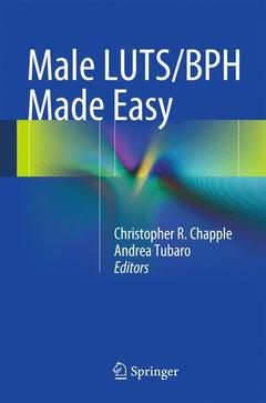 Couverture de l'ouvrage Male LUTS/BPH Made Easy