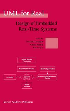 Couverture de l'ouvrage UML for real : design of embedded real-time systems (POD)