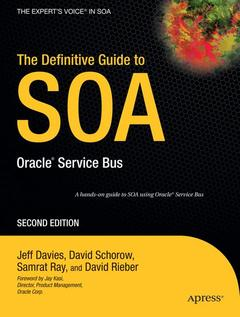 Couverture de l'ouvrage The definitive guide to SOA : Oracle Service Bus