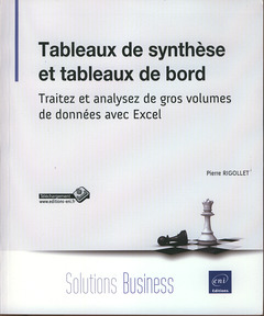 Couverture de l'ouvrage Tableaux de synthèse et tableaux de bord