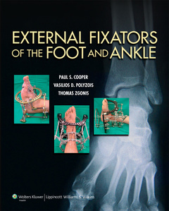Couverture de l'ouvrage External Fixators of the Foot and Ankle