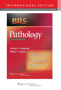 Couverture de l'ouvrage BRS Pathology, 5/e International Edition