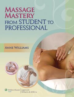 Couverture de l'ouvrage Massage Mastery
