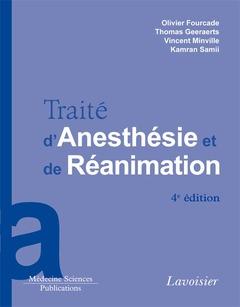 Couverture de l'ouvrage Traité d'anesthésie et de réanimation