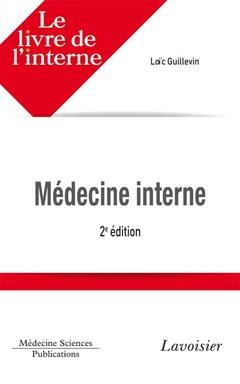 Couverture de l'ouvrage Médecine interne