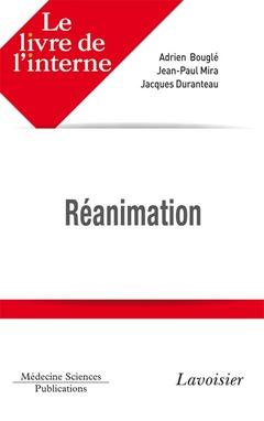 Couverture de l'ouvrage Réanimation