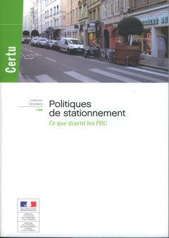 Couverture de l'ouvrage Politiques de stationnement