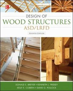 Couverture de l'ouvrage Design of Wood Structures-ASD/LRFD