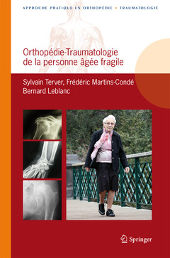 Cover of the book Orthopédie-traumatologie de la personne âgée fragile