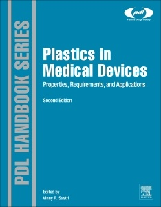 Couverture de l'ouvrage Plastics in Medical Devices