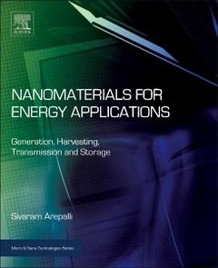 Couverture de l'ouvrage Nanomaterials for Energy