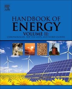 Couverture de l'ouvrage Handbook of Energy