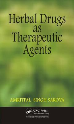 Couverture de l'ouvrage Herbal Drugs as Therapeutic Agents