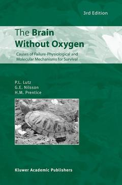 Couverture de l'ouvrage The brain without oxygen: causes of failure : physiological & molecular mechanisms for survival, POD