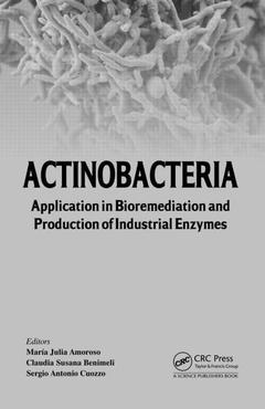 Couverture de l'ouvrage Actinobacteria