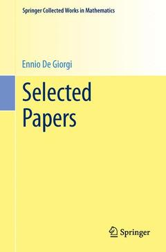 Cover of the book Selected Papers (Reprint 2013 of the 2006 Ed.)
