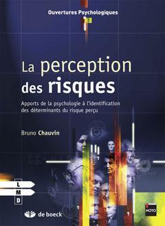 Couverture de l'ouvrage La perception du risque