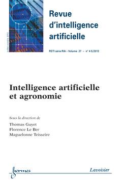 Couverture de l'ouvrage Revue d'intelligence artificielle RSTI série RIA Volume27N°4-5/Juillet-Octobre 2013