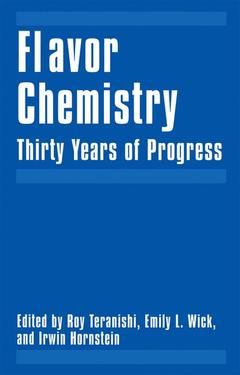 Cover of the book Flavor Chemistry