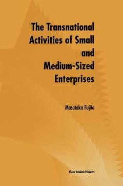 Couverture de l'ouvrage The Transnational Activities of Small and Medium-Sized Enterprises