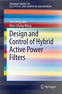Couverture de l'ouvrage Design and Control of Hybrid Active Power Filters