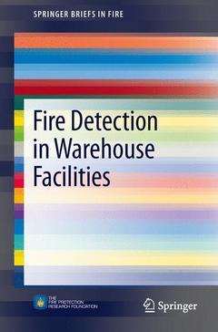 Couverture de l'ouvrage Fire Detection in Warehouse Facilities