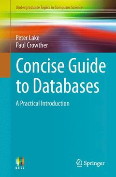 Couverture de l'ouvrage Concise Guide to Databases