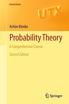 Couverture de l'ouvrage Probability Theory